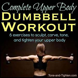 Upper Body Free Weight Dumbbell Workout