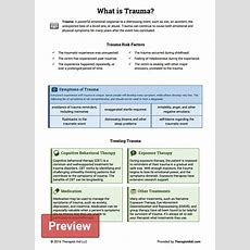 What Is Trauma? (worksheet)  Therapist Aid