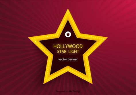 Hollywood Star Template Downloadable