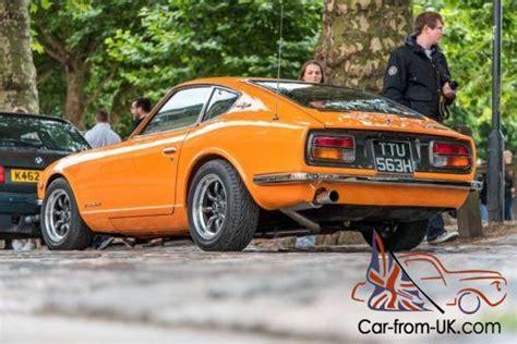1970 Datsun 240z Orange Right Hand Drive