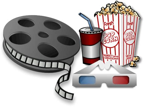Reel Clipart Reel With Soda Drink And Popcorn Vector Clip