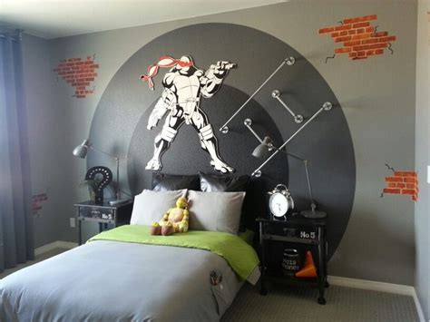 17 Best Ideas About Ninja Turtle Bedroom On Pinterest