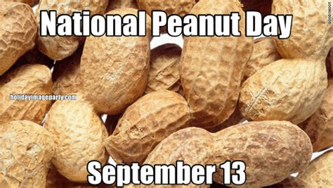 national peanut day september 13 national peanut day