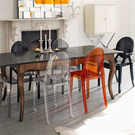 chaise stark inspiration dining room chairs kartell