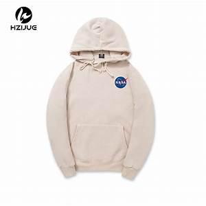 hzijue 2017 xxl nasa hoodie streetwear hip hop haki siyah With affiche chambre bébé avec basket fleurie femme nike