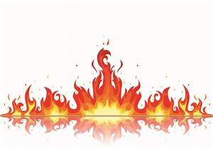 Beautiful Flame Vector Clip 06 Free Vector / 4Vector ...