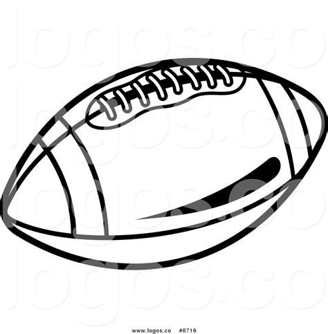 american football vector black and white free american football clipart 48