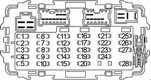 2010 Nissan Frontier Fuse Box Diagram