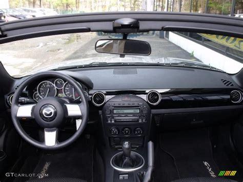 mazda dashboard 2006 mazda mx 5 miata roadster black dashboard photo