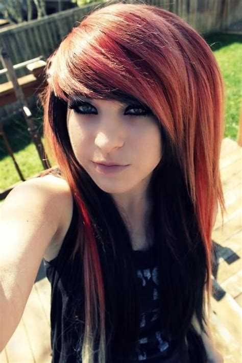 Best 25 Emo Hair Color Ideas On Pinterest Emo Hair