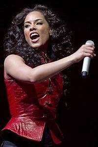 Alicia Keys En 2008 Pendant Un Concert Lisbonne 0