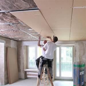 Schallschutz Decke Abhängen : besserer schallschutz durch abgeh ngte decke energie fachberater ~ Frokenaadalensverden.com Haus und Dekorationen