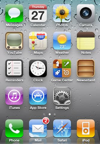 to move apps on iphone 5 how to get your ipod app back on ios 5
