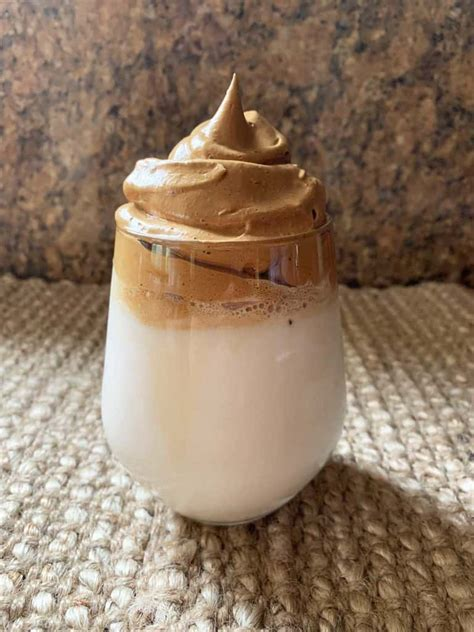 This recipe shows how to make dalgona coffee or whipped coffee using instant coffee, water and keto sweetener or sugar. 3 Steps for How To Make Dalgona Coffee (Velvety whipped coffee)
