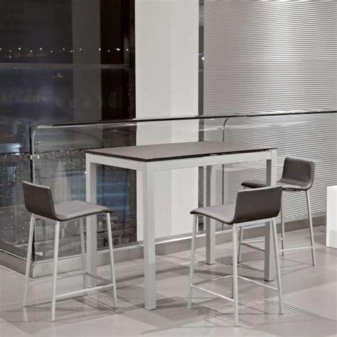 table de cuisine petit espace table snack de cuisine petit espace en céramique avec allonge céleste 4 pieds tables