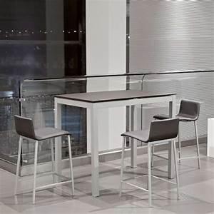 table snack de cuisine petit espace en ceramique avec With table de cuisine pour petit espace