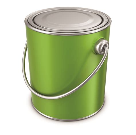 Superb Paint Cans #12 Green Paint Can  Newsonairorg