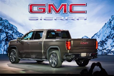 2019 Gmc Sierra Debuts With A Bold New Look  The Torque