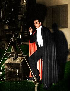 On the Set with Bela Lugosi | OLD HOLLYWOOD IN COLOR