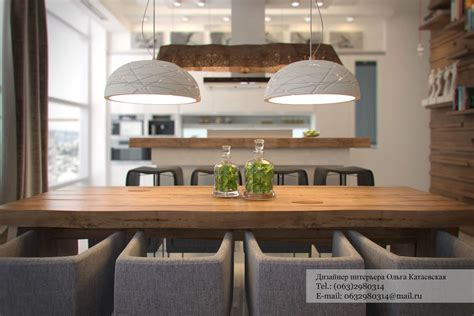 rustic dining room lighting ideas studio apartment architected by ola kataevskaj
