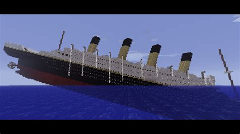 Minecraft Titanic Sinking by Minecraft Titanic Sinking Related Keywords