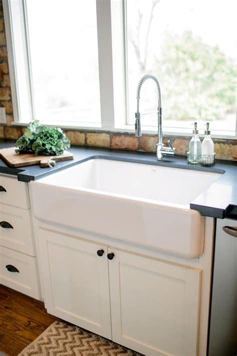 farmhouse style kitchen sink photos hgtv