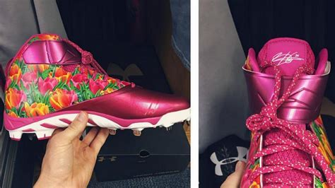 bryce harper shows   sensational mothers day cleats