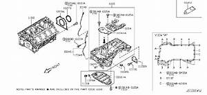 Infiniti Qx70 Block Cylinder  Srs Product  Assembly