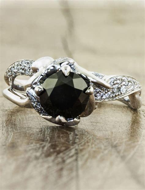 20 Gorgeous Black Diamond Engagement Rings  Deer Pearl