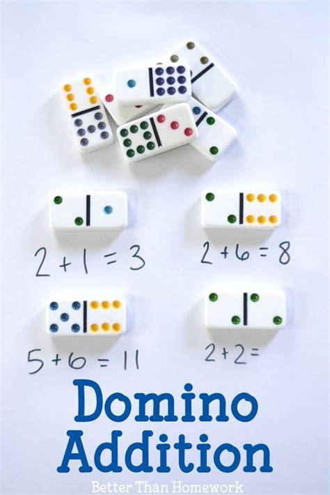 domino addition creative family fun
