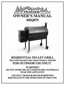 Traeger Bbq075 Owner U0026 39 S Manual Pdf Download