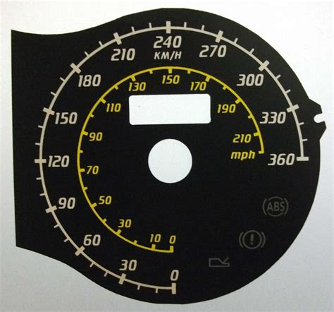 430 Kmh To Mph by F430 Kmh Speedo Meter Clocks Dials