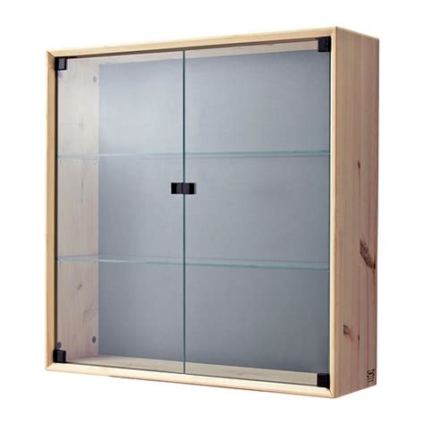 glass door wall cabinet nornäs glass door wall cabinet ikea