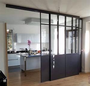 Verriere Interieure Metallique : la verri re int rieure en 62 id es pour toute la maison ~ Premium-room.com Idées de Décoration