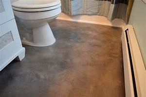 How to install porcelain tile floor over concrete slab for How to tile a floor over concrete