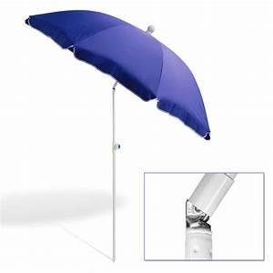 strandschirm sonnenschirm blau 180 cm uv30 With französischer balkon mit sonnenschirm 180 cm