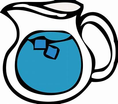 Water Cold Clipart Cup Ice Cool Transparent