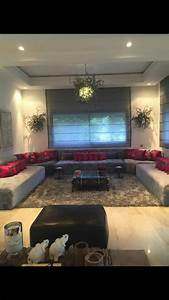 Salon Gris Et Rose : salon marocain moderne gris rose fushia arredamento casa pinterest salon marocain ~ Preciouscoupons.com Idées de Décoration