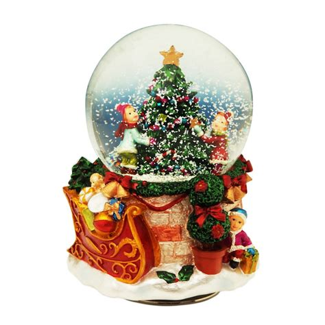 gifts kingdom snow globe with christmas tree snow globes