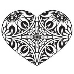 coloring pages printable heart images