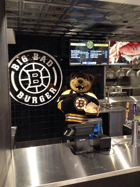 "Boston Bruins on Twitter ""Big Bad Burger, one of eight"