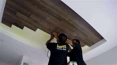 vinyl flooring on ceiling eurox vinyl flooring 05 youtube