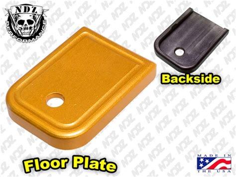 Glock Floor Plate Stuck by Ndz Performance Magazine Base Floor Cover Plate For Glock