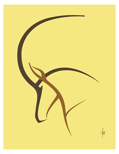Sable Antelope Vector
