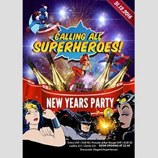 Superheroes  Bar Rouge New Year's Eve Party, 31 December 2016  Bar Rouge