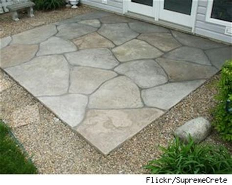 25 best ideas about concrete patio cost on