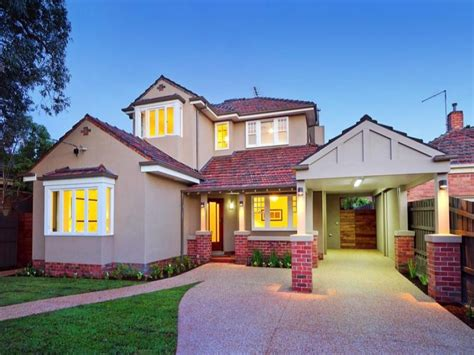 Brick Californian Bungalow House Exterior With Bifold