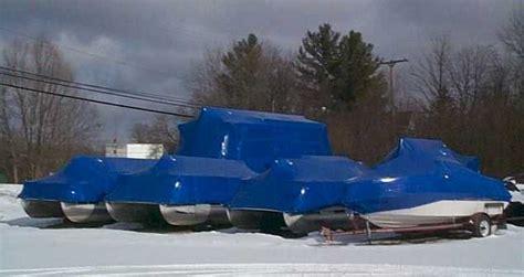 Boat Wraps Kelowna by Boat Storage Shrink Wrapping