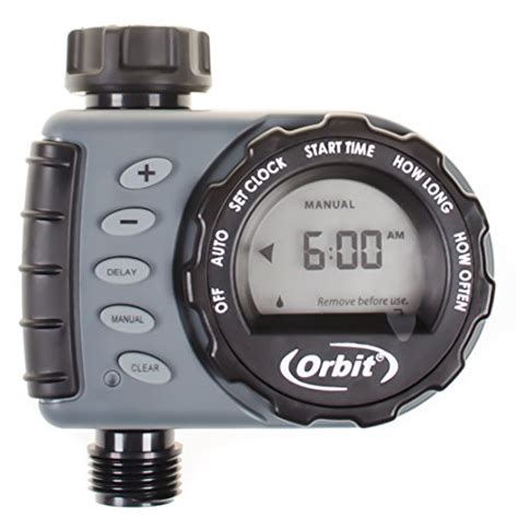 Orbit Hose Faucet Timer Wont Turn by Orbit Digital Hose Sprinkler Irrigation Timer For Vacation