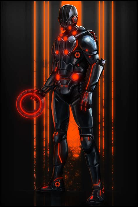 Tron Elite Guard by digitalinkrod | Tron art, Tron, Tron ...